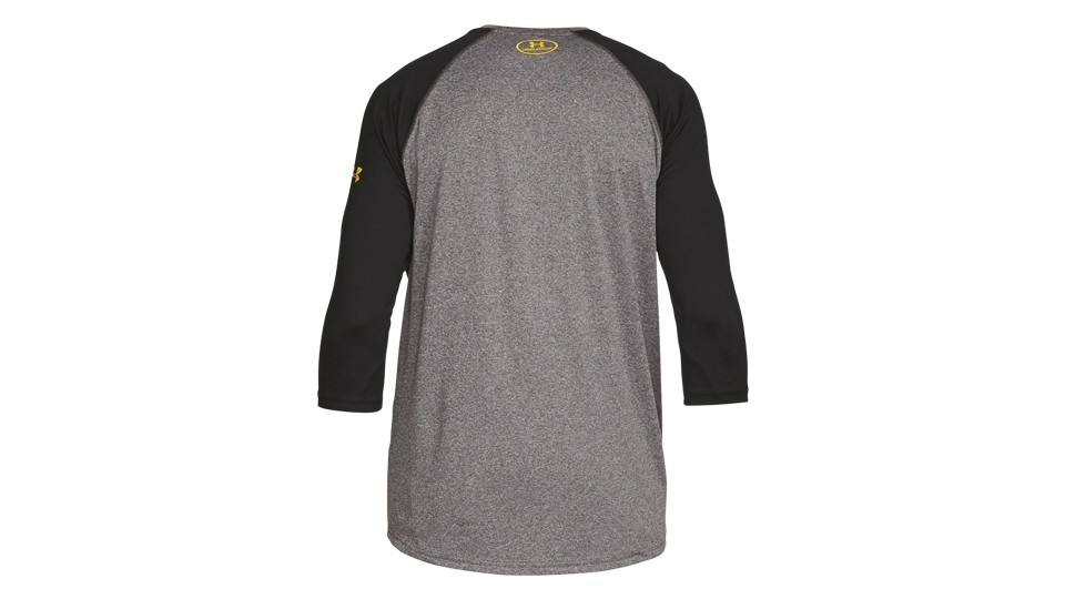 UA - TRX - 3/4 Tech Shirt grau Herren M